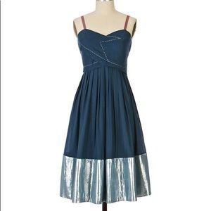 Anthropologie Gibraltar's Gleam Dress